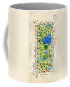 Central Park And All That Surrounds It Coffee Mug