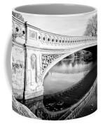 Central Park Bridges Bow Bridge Spanning Lake Coffee Mug