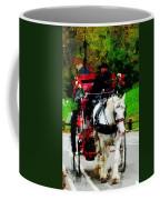 Central Park Carriage Coffee Mug