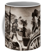 Central Park Carriage Ride - Antique Appeal Coffee Mug