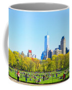 Central Park Panoramic View Coffee Mug