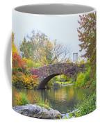 Central Park Gapstow Bridge Autumn II Coffee Mug