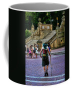Central Park Hiker Coffee Mug