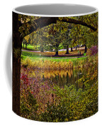 Central Park In Autumn - Nyc Coffee Mug