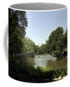 Central Park Pond Coffee Mug