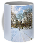 Central Park Snow Storm One Day Later2 Coffee Mug