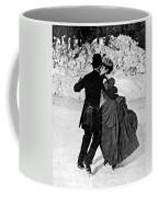 Central Park Victorian Skaters  Coffee Mug