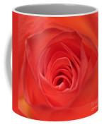 Centre Of A Rose Coffee Mug