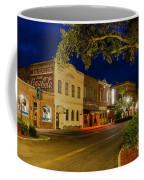 Centre Street Downtown Fernandina Florida Coffee Mug