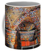 Ceramic Pillars Coffee Mug