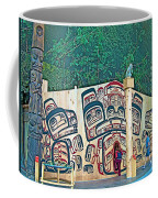 Ceremonial Lodge In Canadian Museum Of Civilization In Gatineau- Coffee Mug