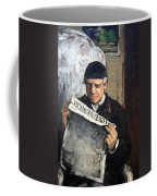 Cezanne's Father Reading Le Evenement Coffee Mug