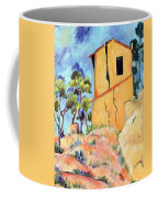 Cezanne's House With Cracked Walls Coffee Mug