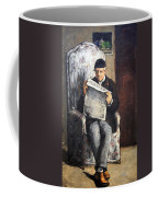 Cezanne's The Artist's Father Reading Le Evenement Coffee Mug