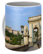 Chain Bridge In Budapest Coffee Mug