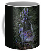 Chair And Flowers Coffee Mug