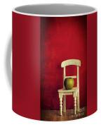 Chair Apple Red Still Life Coffee Mug