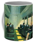 Chair Car Coffee Mug by Edward Hopper