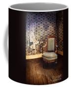 Chair In Abandoned Room Coffee Mug
