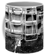Chairs - New York City Street Scene Coffee Mug
