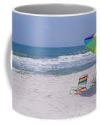 Chairs On The Beach, Gulf Of Mexico Coffee Mug