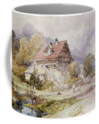 Chalet, Brunnen, Lake Lucerne Coffee Mug