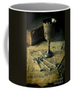 Chalice And Keys Coffee Mug