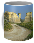 Chalk Pyramids Coffee Mug