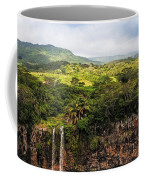 Chamarel Waterfall. Mauritius Coffee Mug