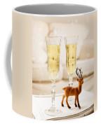Champagne At Christmas Coffee Mug