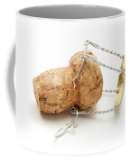 Champagne Cork Stopper Coffee Mug