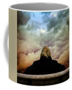 Chance Of Rain First Panel  No Umbrella Coffee Mug by Bob Orsillo