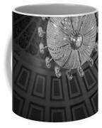 Chandelier-black And White Coffee Mug