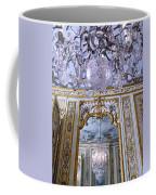 Chandelier Inside Chateau De Chantilly Coffee Mug