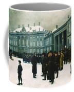 Changing Of The Guard At Amalienborg Palace Coffee Mug