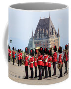 Changing Of The Guard The Citadel Quebec City Coffee Mug