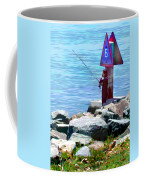 Channel Fishing Coffee Mug