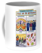 Channel Thirteen Takes On The Networks Coffee Mug