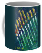 Chanukiah In The Dark Coffee Mug
