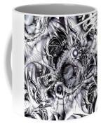 Chaotic Space Coffee Mug by Anastasiya Malakhova