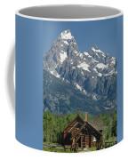 1m9335-chapel And Grand Teton Coffee Mug