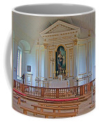 Chapel In King's Bastion In Louisbourg Living History Museum-174 Coffee Mug