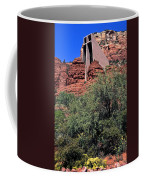 Chapel In Red Rocks Coffee Mug