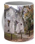 Chapel Of Ease Ruins And Mausoleum St. Helena Island South Car Coffee Mug