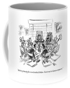 Characters From The Wizard Of Oz Have A Group Coffee Mug
