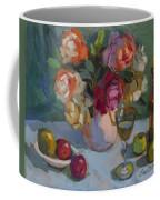 Chardonnay And Roses Coffee Mug