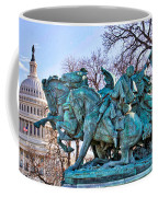 Charge On The Capitol Coffee Mug