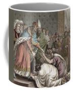 Charlemagne Receives The Ambassadors Coffee Mug