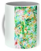 Charles Bukowski Portrait.3 Coffee Mug