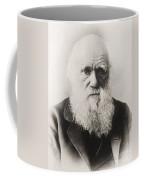 Charles Darwin Coffee Mug by English School